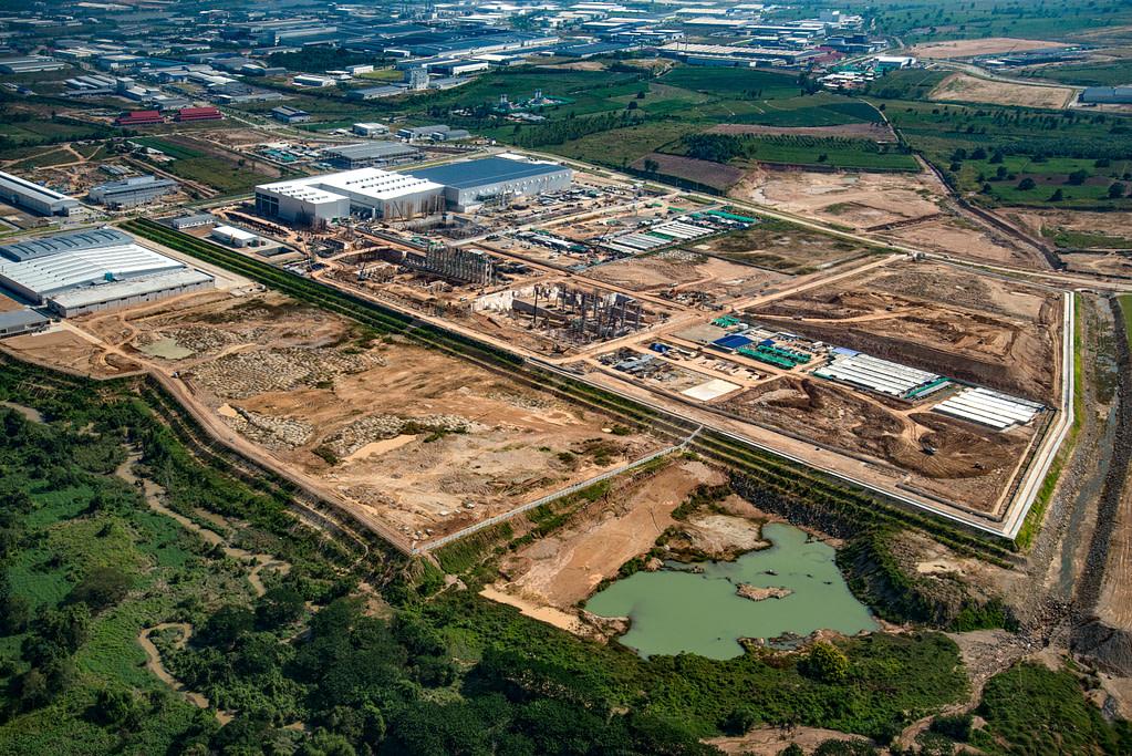 industrial estate land development