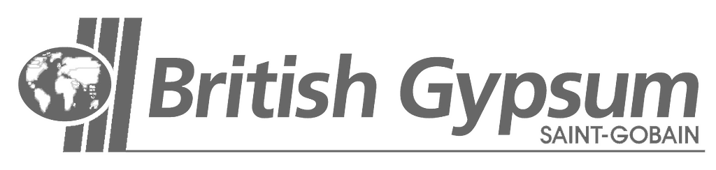 british gypsum logo grey